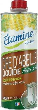 Екологічний засіб Etamine du Lys Бджолиний віск для догляду та полірування меблів з сосновою олією 500 мл (3538394913011)