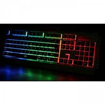 Ігрова дротова клавіатура з мишкою і LED підсвічуванням K33