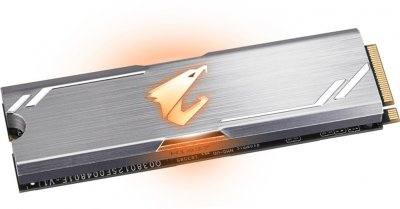Gigabyte Aorus RGB SSD 512GB M.2 2280 NVMe PCIe 3.0 x4 3D NAND TLC (GP-ASM2NE2512GTTDR)