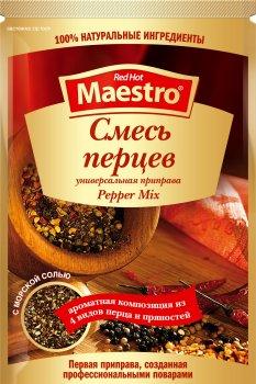 Упаковка приправи Ред Хот Маестро Суміш перців 25 г х 30 шт (5060140290353)