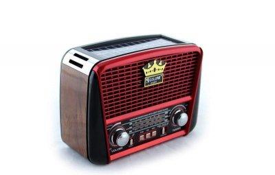Портативный радио приемник Golon RX-456S Без солнечной панели, MP3 колонка 3227