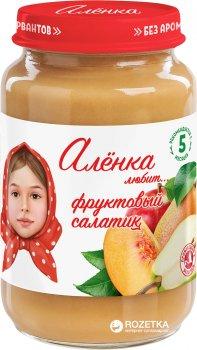 Упаковка пюре Аленка Любит Фруктовий салат 170 г х 6 шт. (4813163002479)