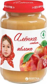 Упаковка пюре Аленка Любит Яблуко 170 г х 6 шт. (4813163002417)