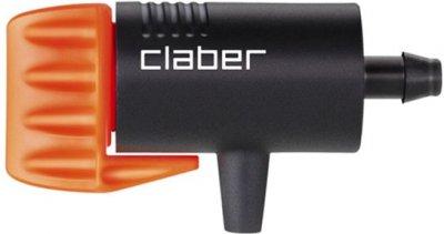 Крапельниця регульована Claber 0-6 л/год для крапельного поливання 50 шт. (992090000)