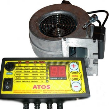 Комплект автоматики котла ATOS и вентилятор WPA X2