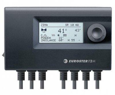 Погодозависимая автоматика для клапана и насоса Euroster 12M