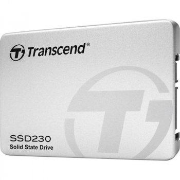 """Накопичувач SSD 128GB Transcend SSD230S Premium 2.5"""" SATA III 3D-V-NAND TLC (TS128GSSD230S)"""