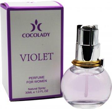 Парфюмированная вода для женщин Cocolady Violet 30 мл (4820218791004)