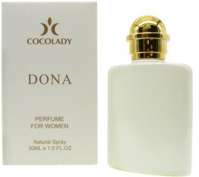 Парфюмированная вода для женщин Cocolady Dona 30 мл (4820218791080)