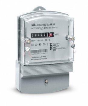 Лічильник електричний однофазний НІК 2102-02М2В (5-60А)