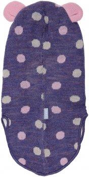 Зимняя шапка-шлем Lenne Tipi 19576/6199 46 см Фиолетовая (4741578367060)