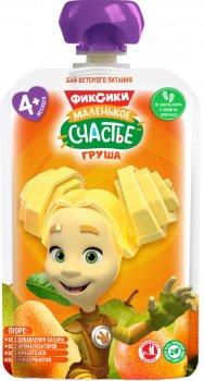 Упаковка дитячого пюре Фіксікі Груша в паучі 90 г х 12 шт (4813163003353)