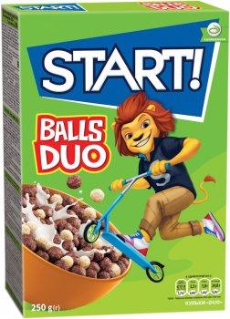 Упаковка сухого завтрака Start DUO 250 г х 12 шт (4820008126481)