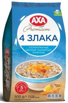 Упаковка хлопьев АХА 4 злака 500 г х 12 шт (4820008128133)