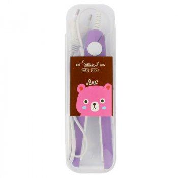 Плойка Magic roller для прикорневого гофре фиолетовая - 141005