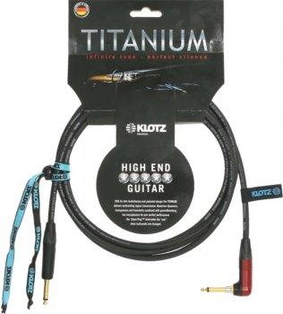 Кабель мікрофонний Klotz Titanium Instrument Cable silentPLUG Angled 4.5 м (228255)