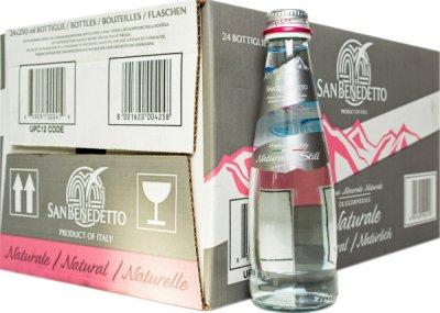 Упаковка минеральной воды San Benedetto негазированной 0.25 л х 24 бутылки (8001620004258)