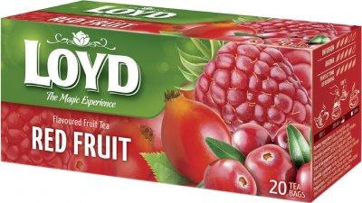Упаковка чая пакетированного Loyd Ягодный Красные ягоды 14 шт по 20 пакетиков (5900396024084)