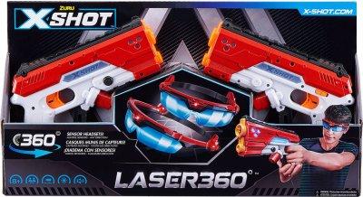 Набор лазерных бластеров Zuru X-Shot Laser 360 (193052002471)