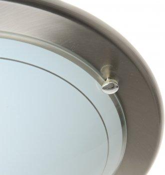 Світильник настінно-стельовий Brille PK-050/1 SN (181010)