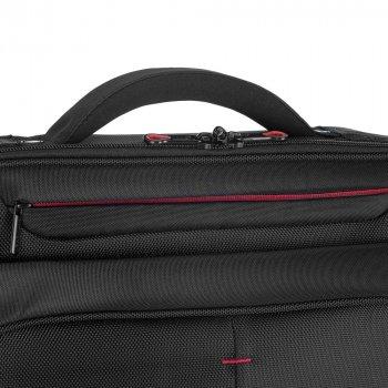 Сумка для ноутбука 56-3S-633-1B чорно-червоний