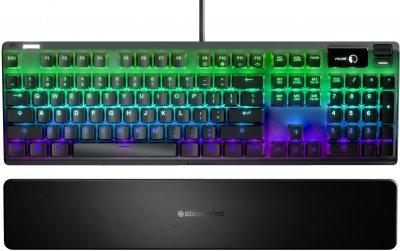 Клавіатура дротова SteelSeries Apex Pro USB (SS64626)