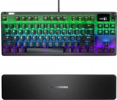 Клавиатура проводная SteelSeries Apex Pro TKL USB (SS64734)