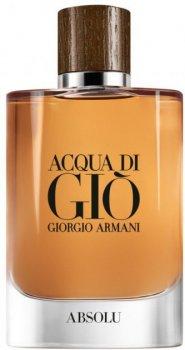 Парфюмированная вода для мужчин Giorgio Armani Acqua di Gio Absolu 40 мл (3614271992895)