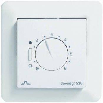 Терморегулятор DEVI Devireg 530 механический для теплого пола