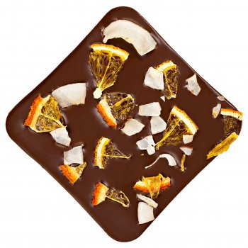 Шоколад Spell Dark Chocolate with Passion fruit & Coconut 100 г (4820207310773)