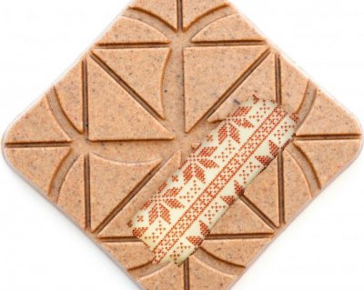 Шоколад Spell White Chocolate With Waffels & Malt 100 г (4820207310728)
