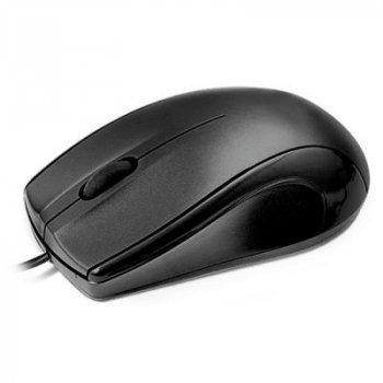 Миша REAL-EL RM-250 Black USB+PS/2