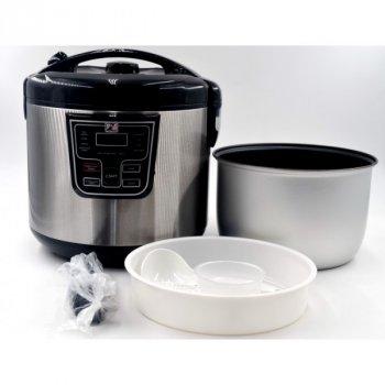 Мультиварка пароварка Promotec 5 літрів медленноварка 860 Вт краща домашня потужна помічниця на кухні PM523S