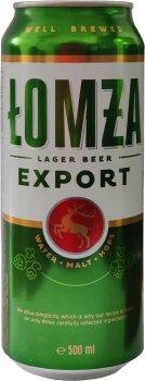 Упаковка пива Lomza 5.7% 0.5 л x 24 шт. (5903538900765)