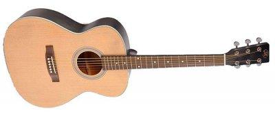 Акустическая гитара SX SO204 Trans Black