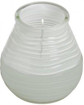 Свеча Bolsius в стекле Patio light 94/91 Белая (180302)