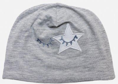Демисезонная шапка Danaya ШЯТ-30/18 40 см Серая (2000013851895)