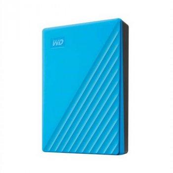 """HDD ext 2.5"""" USB 4.0 TB WD My Passport Blue (WDBPKJ0040BBL-WESN)"""