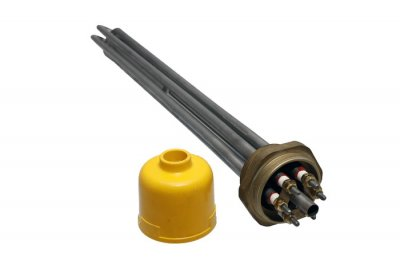 "Тен для електрокотла, Kawai 1½"" 380V 9.00 kW"