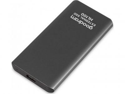 Зовнішній накопичувач SSD USB 3.2 512GB HL100 GOODRAM (SSDPR-HL100-512)