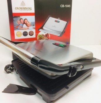 Притискної контактний електричний гриль Crownberg CB-1045 2000W
