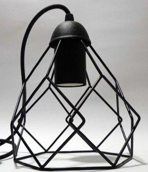 Светильник подвесной на 2-лампы RUBY/SP-2 E27 чёрный