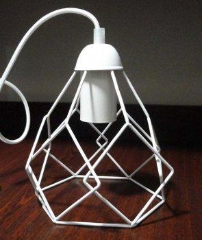 Светильник подвесной на 2-лампы RUBY/SP-2W E27 белый