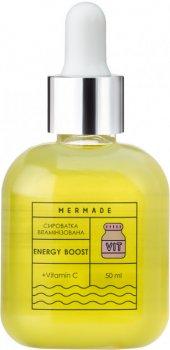 Сыворотка Mermade Energy Boost витаминная 50 мл + нерфитовий роллер (MRF005A50008) (200000224510)