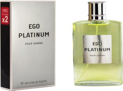 Туалетная вода для мужчин Alain Fumer Ego Platinum 100 мл (4630014633602)
