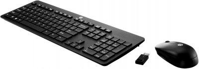 Комплект бездротовий HP Slim Keyboard and Mouse Wireless Black (T6L04AA)