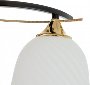 Люстра Brille LK-710S/2 E27 BK+FG (24-549)