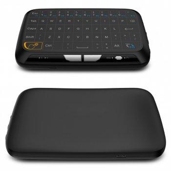 Бездротова сенсорна клавіатура міні H18 для ПК, ноутбука Smart Android TV тільки англійська (as-1413)