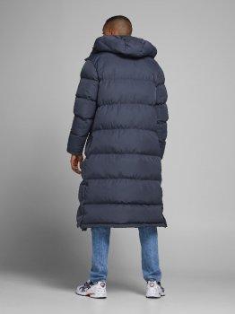 Куртка Jack & Jones JORSPECT LONG PUFFER 12176610 Dark Navy темно-синий (JJ3 12176610 Dark Navy)