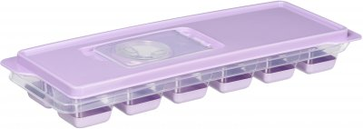 Форма для льда Ardesto Fresh с крышкой 9.5х27х4 см Лиловая (AR1101LP)